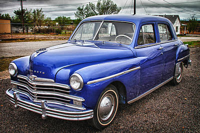Photograph - Old Blue  by Tony Grider