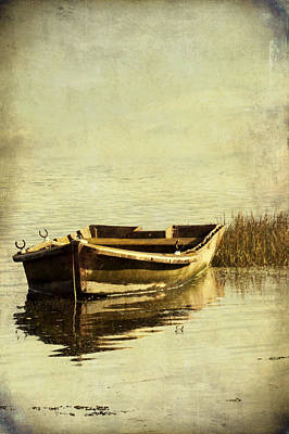 Photograph - Old Boat With Textures by Ethiriel  Photography