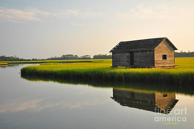 Photograph - Old Boathouse by Randy Rogers