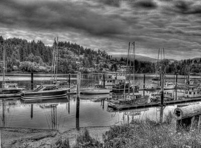 Photograph - Old Boats by HW Kateley