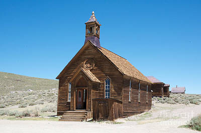 Art Print featuring the photograph Old Bodie Church by Vinnie Oakes