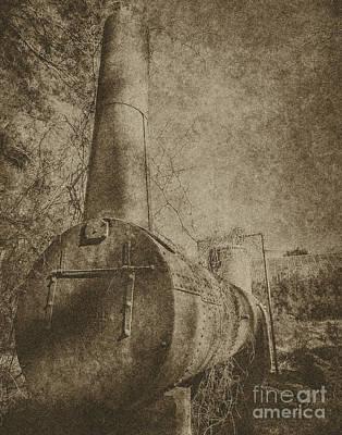 Photograph - Old Boiler  by Ken Frischkorn