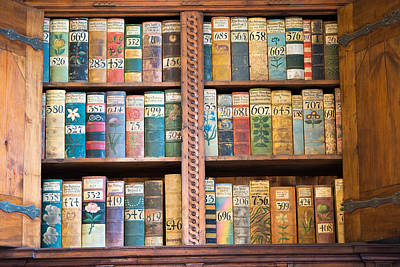 Old Books In Prague Print by Matthias Hauser