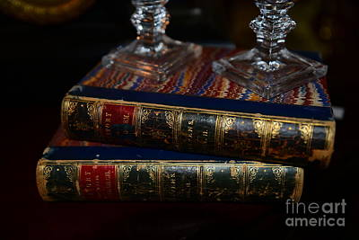 Bookshop Photograph - Old Books by Paul Ward