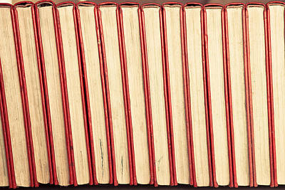 Hardcover Photograph - Old Books by Tom Gowanlock
