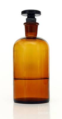Stopper Photograph - Old Bottle by Michal Boubin