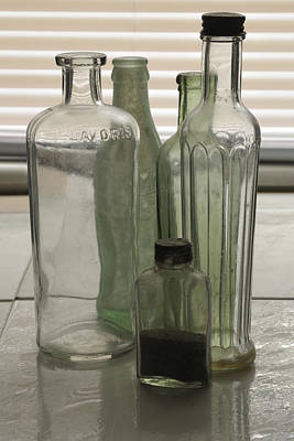 Photograph - Old Bottles by Bradford Martin