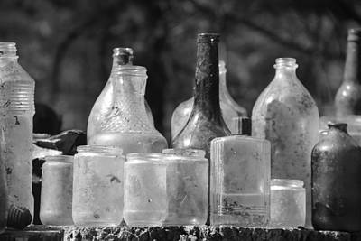 Old Bottles Two Art Print by Sarah Klessig