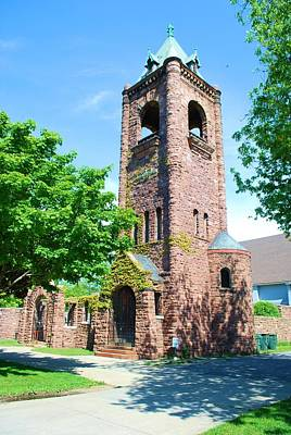 Christain Cross Photograph - Old Brick Church by Richard Jenkins