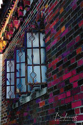 Old Brick Renewed Art Print by Robin Lewis