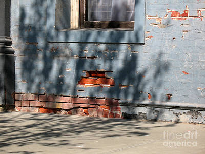 Photograph - Old Bricks And Mortar by Connie Fox