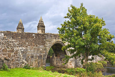 Photograph - Old Bridge At Stirling - Scotland by Jane McIlroy