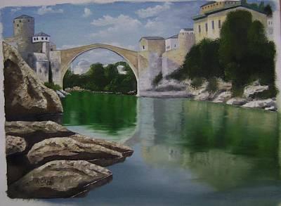 Old Bridge Mostar Original