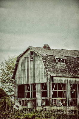 Old Broken Barn Art Print