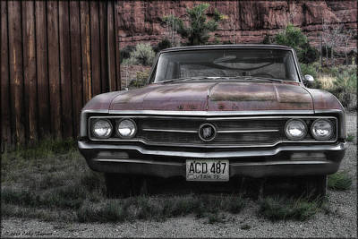 Photograph - Old Buick by Erika Fawcett