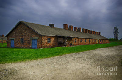Auschwitz Photograph - Old Building 2 by Giovanni Chianese