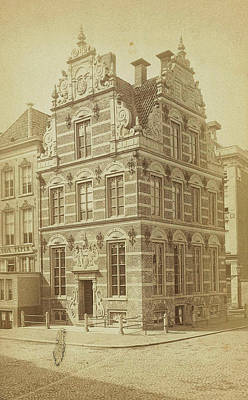 Old Buildings Drawing - Old Building In Groningen, The Netherlands by Artokoloro