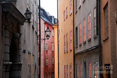 Photograph - Old Buildings In Stockholm by Michal Bednarek