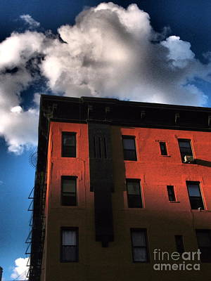 Photograph - Old Buildings Of New York - Brownstone 2 by Miriam Danar
