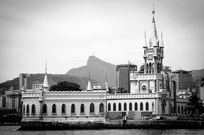 Photograph - Old Buildings On Fiscal Island by Celso Diniz