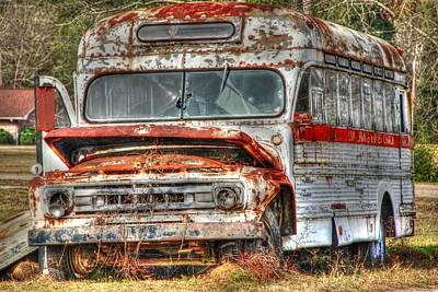 Old Bus 01 Art Print