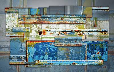 Ethridge Photograph - Metal Abstract by Steven Michael