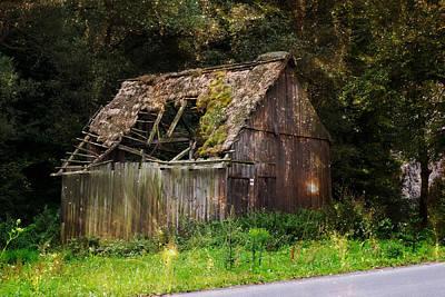 Cabin Window Photograph - Old Cabin Magic by Pati Photography