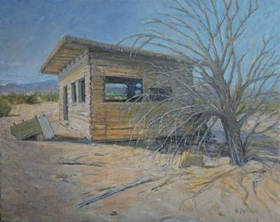 Painting - Old Cabin by Sandra Lytch