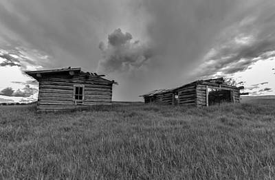 Old Cabins Resting Original by Stellina Giannitsi