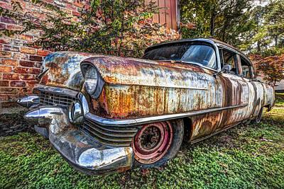 Old Cadillac Art Print