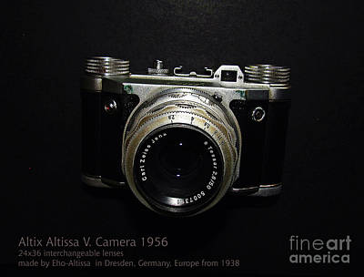 Photograph - Old Camera by Alexa Szlavics
