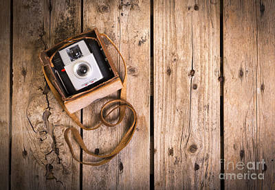 Camera Photograph - Old Camera by Tim Hester