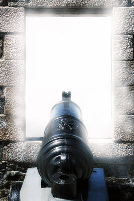 Artillery Photograph - Old Cannon by Joana Kruse
