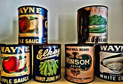 Painting - Old Cans by Joan Reese