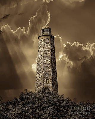 Cape Henry Lighthouse Photograph - Old Cape Henry Lighthouse by Nick Zelinsky