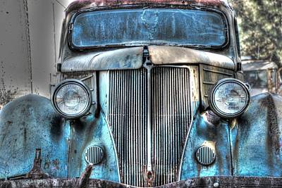 Old Car 01 Print by Andy Savelle