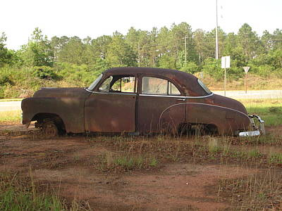 Photograph - Old Car 3 by Lew Davis