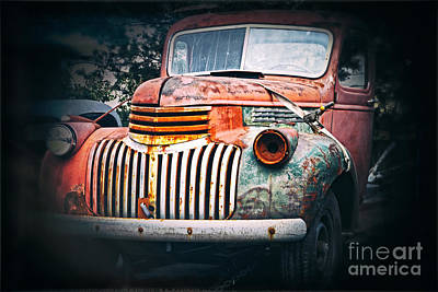 Photograph - Old Car by Charline Xia