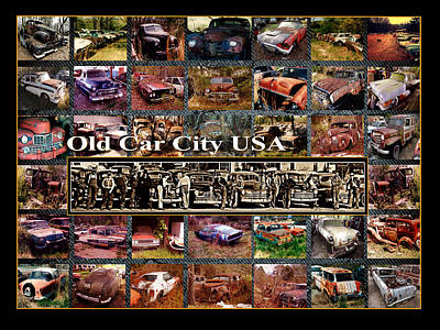 Photograph - Old Car City Usa Back Lot by Richard Erickson