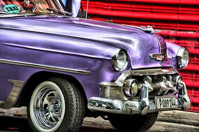 Photograph - Old Car Cuba by Perry Frantzman