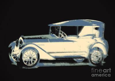 Digital Art - Old Car by Igor Kislev