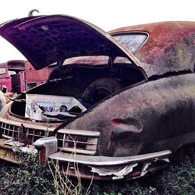 Cars Photograph - Old Car by Julie Gebhardt