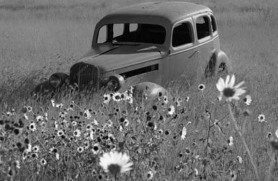Art Print featuring the photograph Old Car by Leticia Latocki
