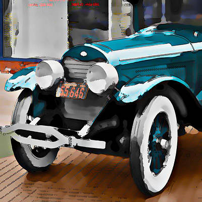 Old Car Art Print by Robert Smith