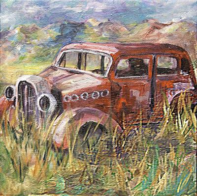 Old Car Art Print