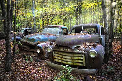 Old Cars Art Print