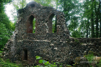 Photograph - Krimulda Castle Ruin In Sigulda Latvia by Rudi Prott