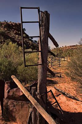Old Cattle Station V2 Art Print