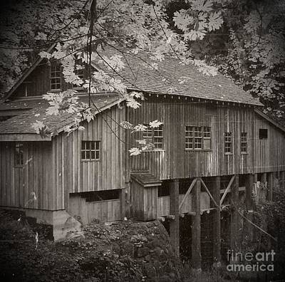 Mixed Media - Old Cedar Creek Grist Mill  by Chalet Roome-Rigdon