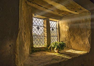Old Chapel Window Sill Art Print